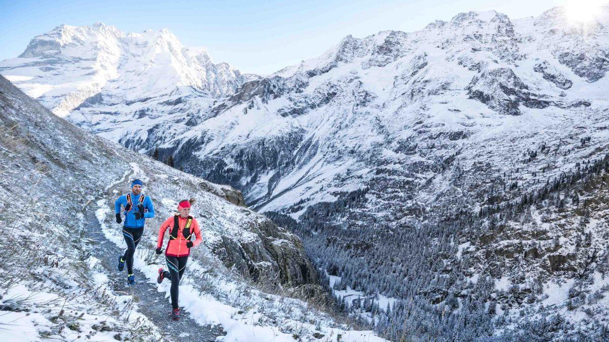 Di corsa anche in inverno con la collezione alpine running Dynafit