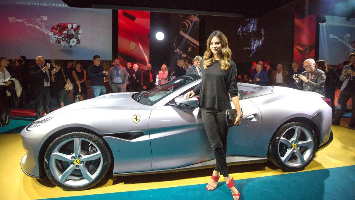 Ferrari Portofino: splendida, potente e versatile. A Roma il debutto ufficiale in Italia
