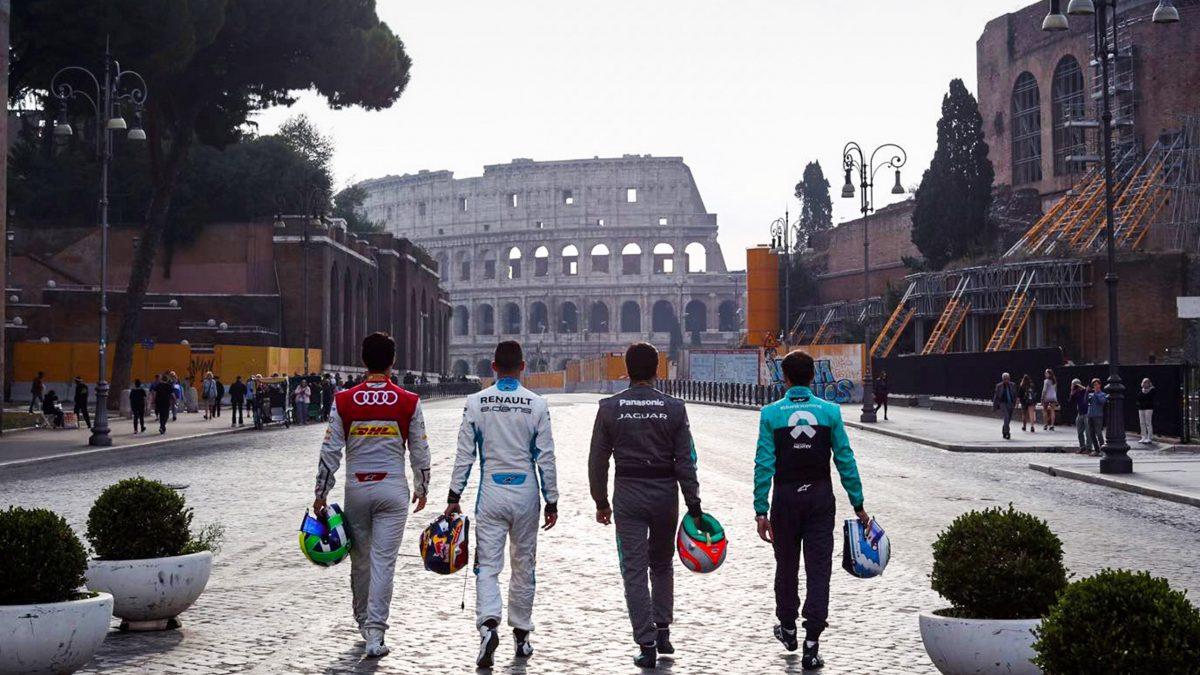 Anche le strade della Formula E portano a Roma