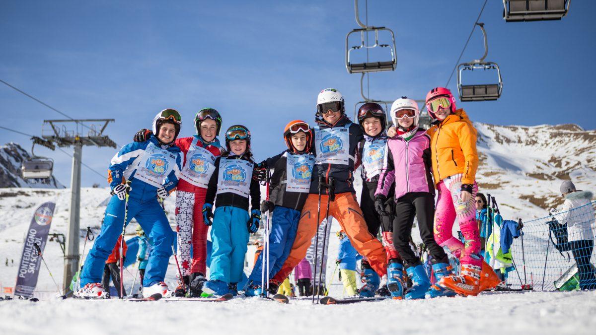 Scuola Sci Cortina a Skipass: arriva la formula Week 4 Kids