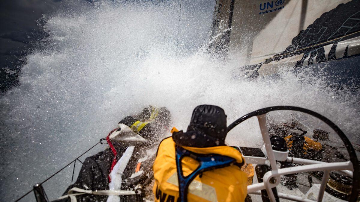 Venti fino a 50 nodi per le barche della Volvo Ocean Race