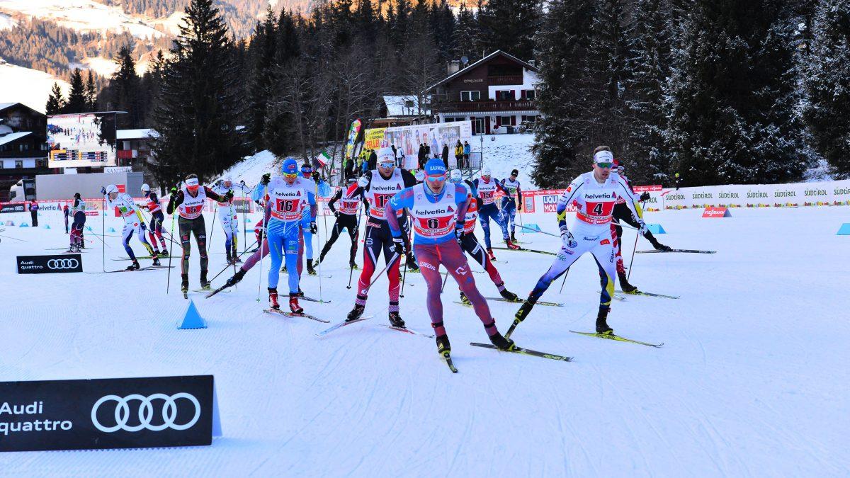 A Dobbiaco le stelle di Coppa del Mondo: sfida sulla neve della Nordic Arena