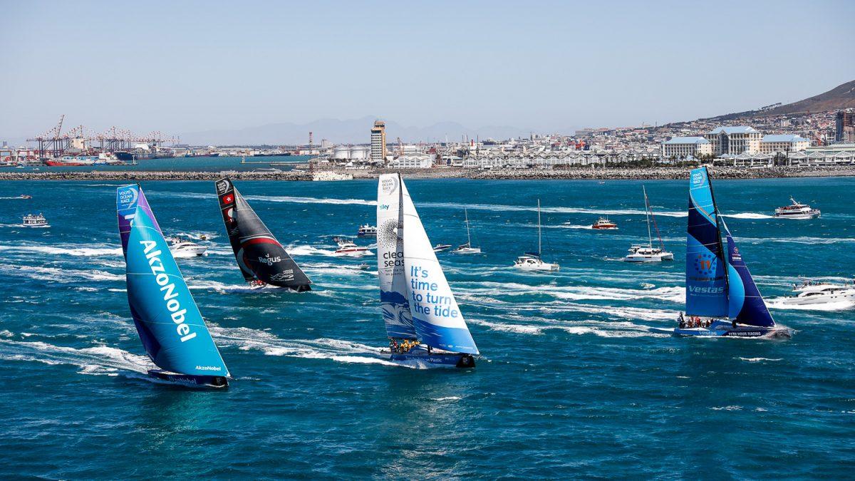 Onde tra i 7 e gli 11 metri attendono le barche della Volvo Ocean Race