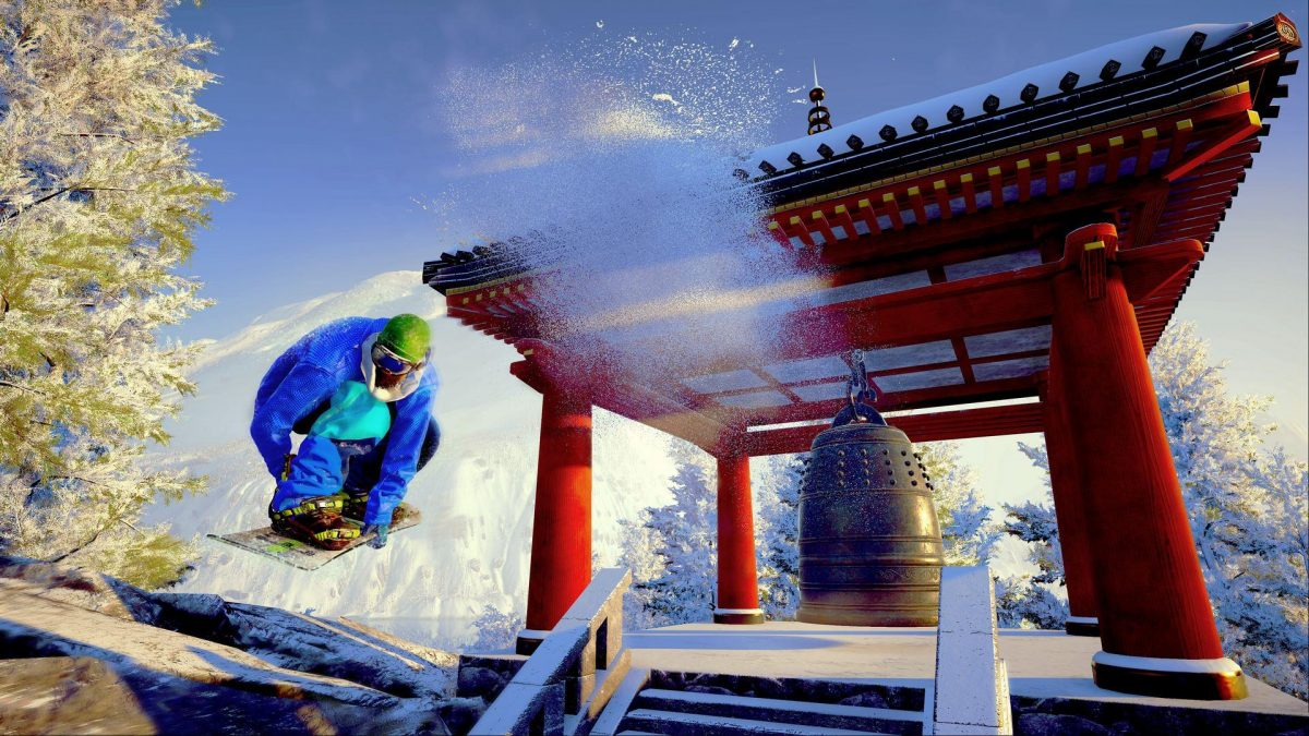 Steep: Road to the Olympics, cinque cerchi di neve e pixels