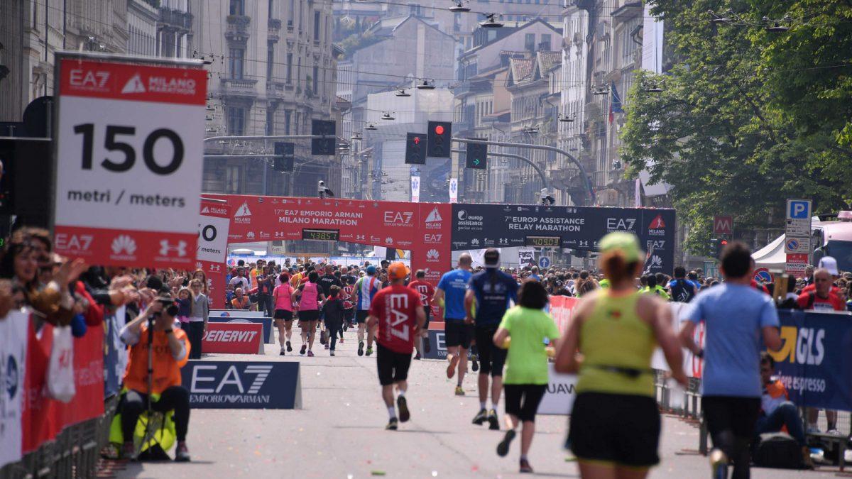 Together To Go x Lorenzino alla Milano Marathon