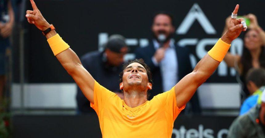 Tennis, Nadal trionfa al Foro Italico