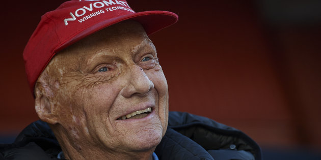 L'ennesima vittoria di Niki Lauda