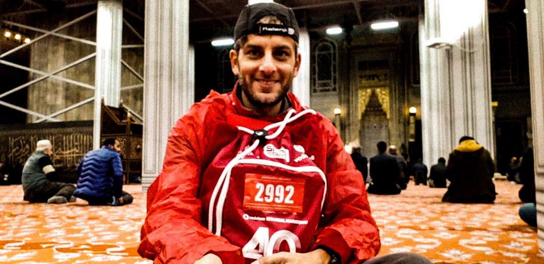 Francesco Tieri, il maratoneta dei due mondi