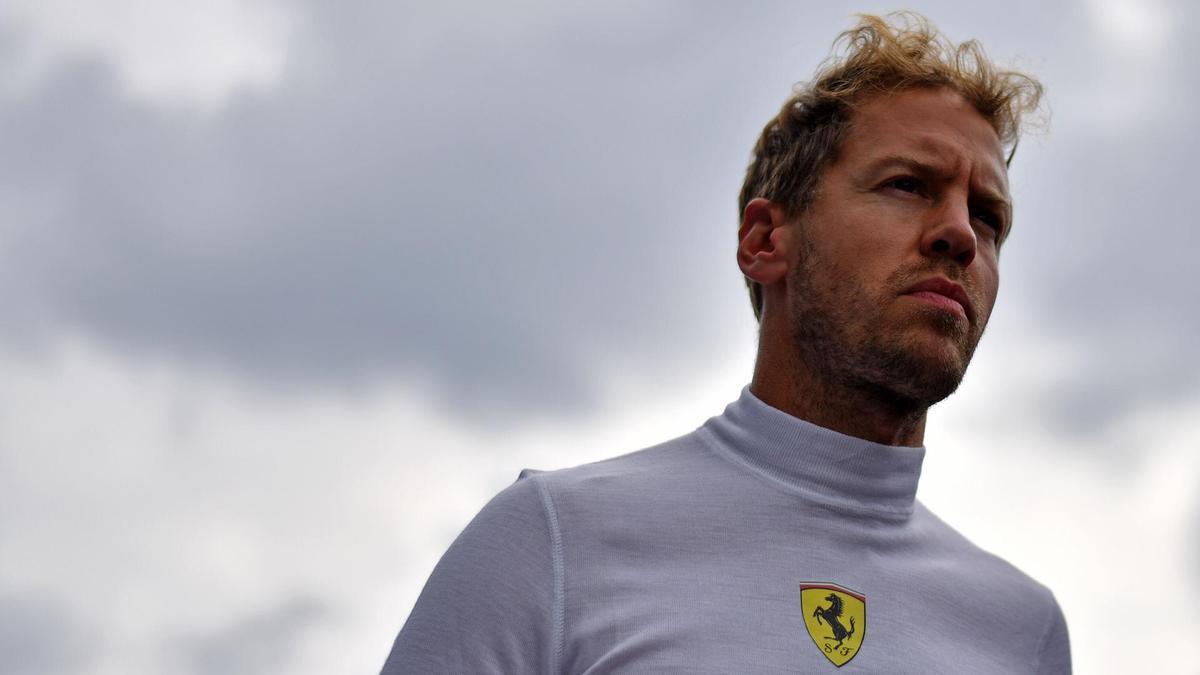 Vettel, uno con la testa a posto
