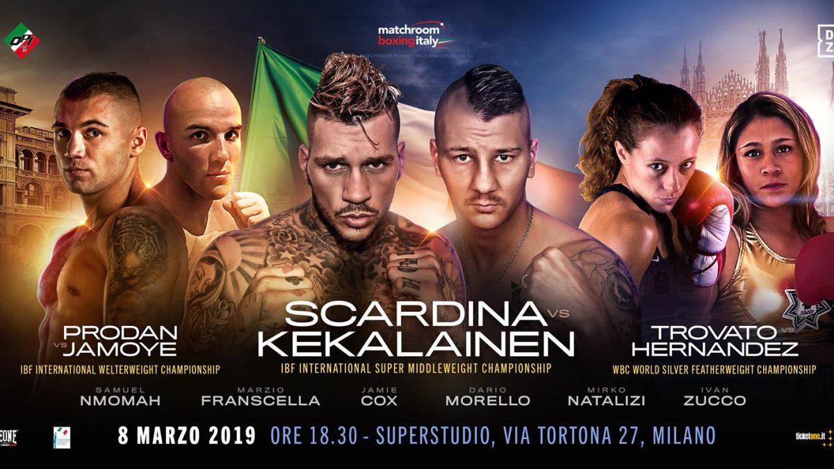 La Grande Boxe sbarca a Milano con Matchroom Boxing Italy, OPI since 82 e DAZN