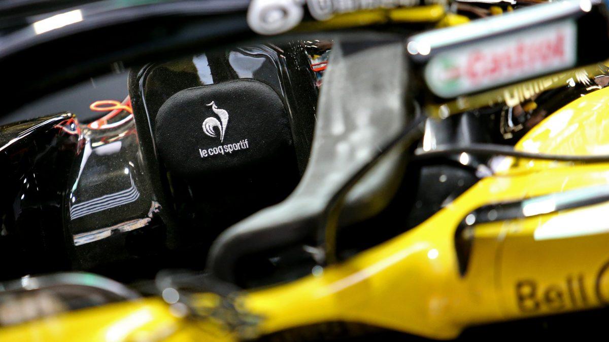 Test F1: Renault, un giorno in giallo e nero