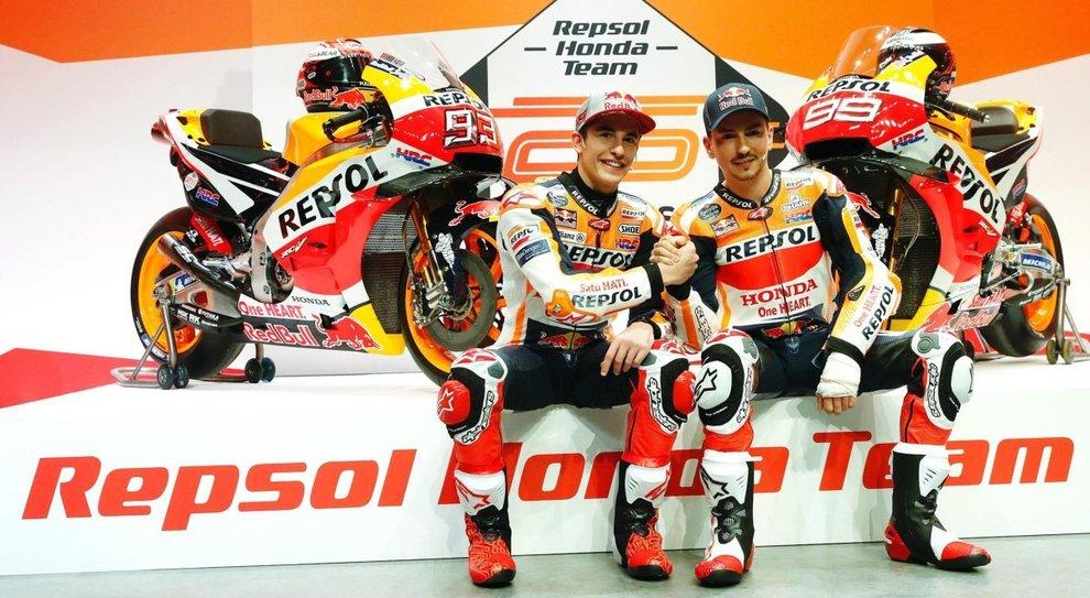 Marquez e Lorenzo: le due facce della Honda HRC