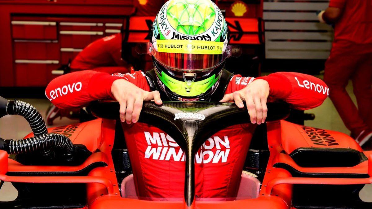 Mick Schumacher: la prima volta in Rosso