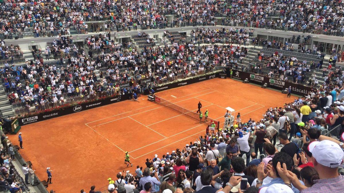 Il tennis infiamma Roma: iniziano gli Internazionali d'Italia
